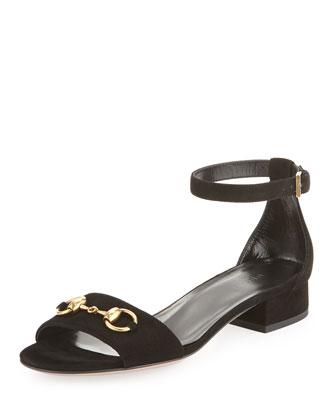 Liliane Flat Suede Sandal