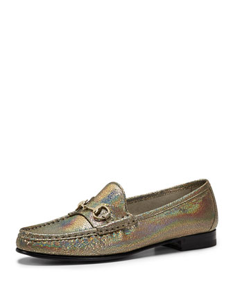 60th Anniversary Metallic Loafer, Iridescent