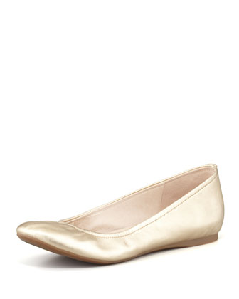 Noah Metallic Hidden-Wedge Flat