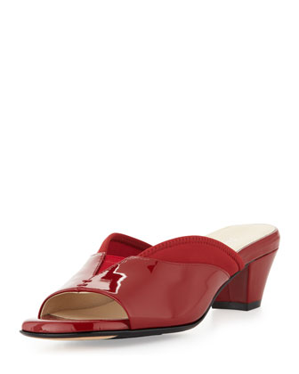 Odi Stretch Patent Slide, Red