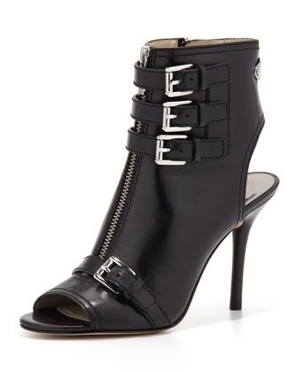 Roswell Peep-Toe Ankle Boot