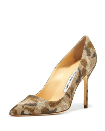 BB Linen 105mm Pump, Camo (Made to Order)