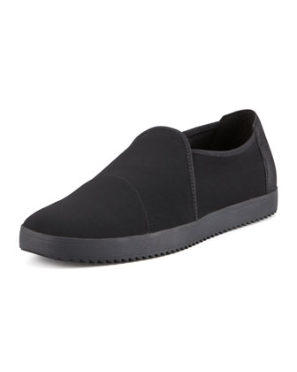 Mime Mesh Slip-On Loafer, Black