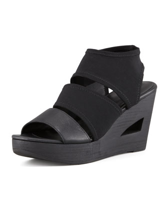 Rally 2 Stretch Wedge, Black