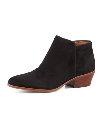 Petty Suede Ankle Bootie