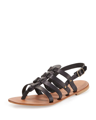 Moorea Strappy Leather Sandal