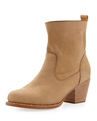 Mercer Nubuck Ankle Boot, Camel