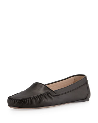 Napa X Stitched Moccasin, Black
