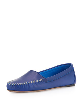 Napa X Stitched Moccasin, Blue