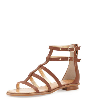 Aim High Gladiator Sandal, Whiskey