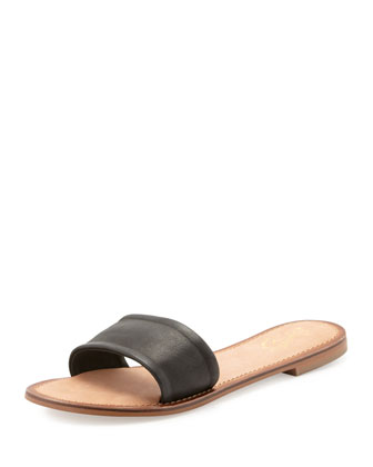 City Slicker Flat Slide, Black