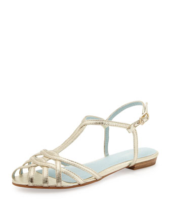 Can't Trust Myself Strappy Flat Sandal