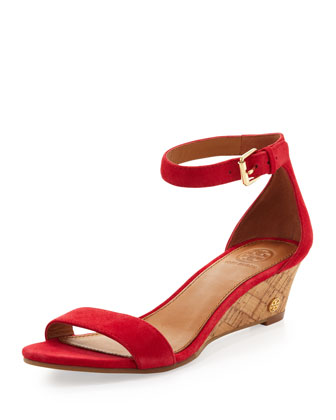 Savannah Low Wedge, Carnival Pink