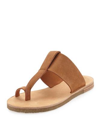 Harmen Nubuck Thong Sandal, Luggage