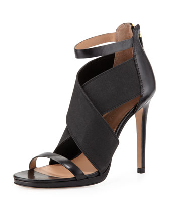 Sarita 2 Cross-Strap Sandal, Black