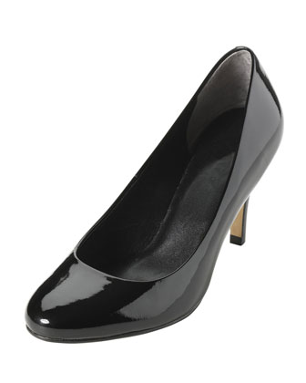 Air Lainey Patent Leather Pump, Black
