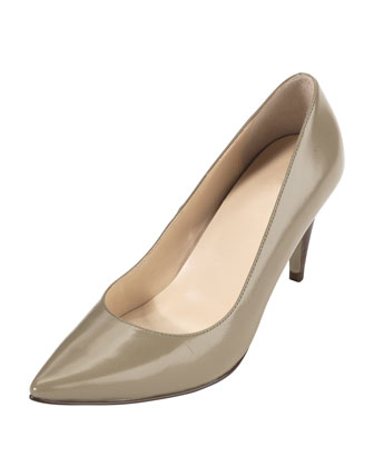 Air Juliana Leather Pump, Summer Khakis