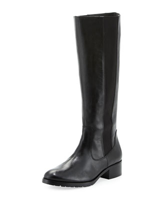 Buriel Riding Boot, Black