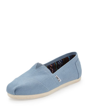 Classic Canvas Slip-On, Blue