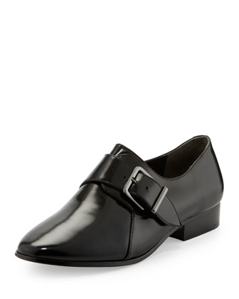 Caden Monk-Strap Loafer, Black