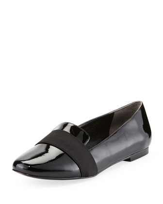 Zarine Patent Loafer, Black