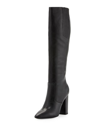 Lorelle1 Tall-Shaft Boot, Black