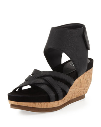 Vast Cork Wedge Ankle Sandal