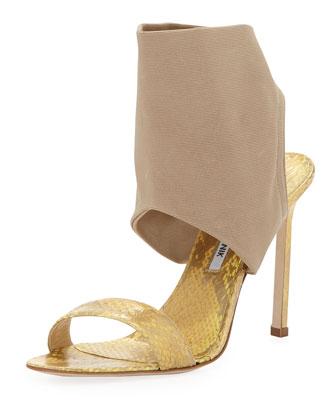 Saccopen Combo Glove Sandal, Beige