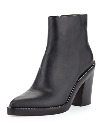 Kelly Pointed-Toe Ankle Boot