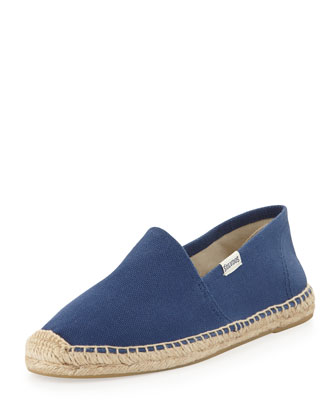 Dali Original Canvas Espadrille Flat, Navy