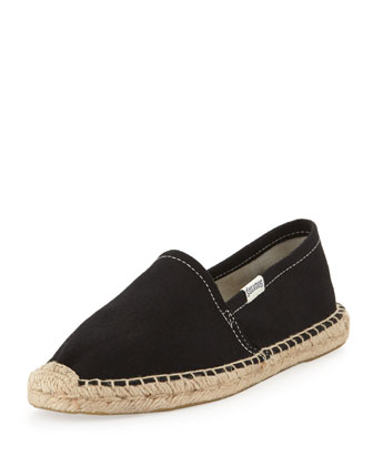 Dali Original Canvas Espadrille Flat, Black
