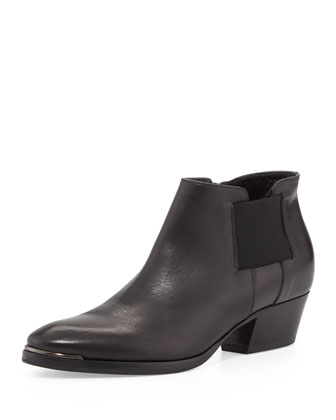 Fetch Leather Ankle Boot