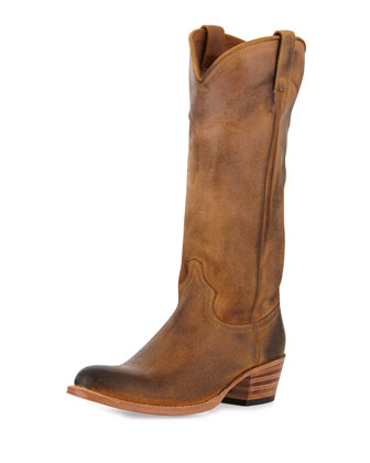 Deborah Pull-On Western Boot, Tab