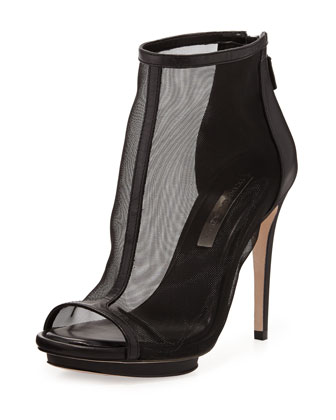 Gamma Mesh/Leather Bootie