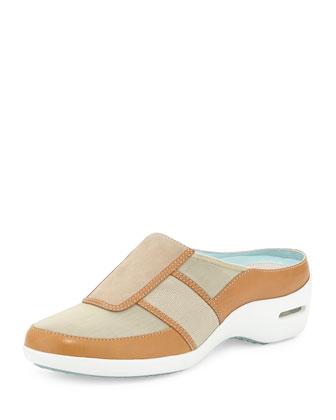 Zora Slip-On Mule Sneaker, Salt