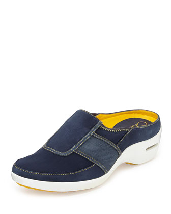 Zora Slip-On Mule Sneaker, Dark Navy