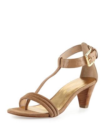 Viva Combo T-Strap Sandal, Natural