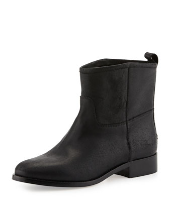 Harley Flat Ankle Boot