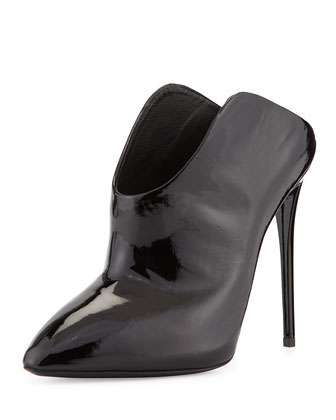 High-Heel Patent Mule