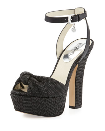 Benji Ankle-Strap Platform Sandal