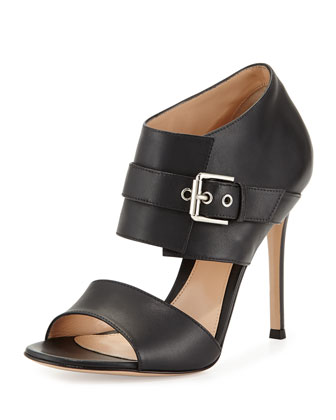 Double-Band Buckle Sandal