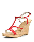 Cicely Wedge Sandal