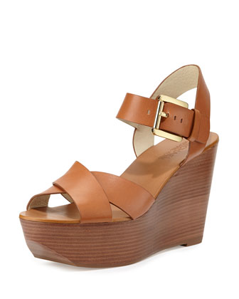 Peggy Wedge Sandal