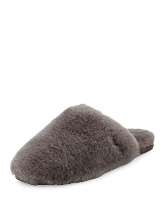 Fluff Clog Slipper, Gray