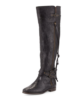 Collection Nicoletta Scored Over-the-Knee Boot