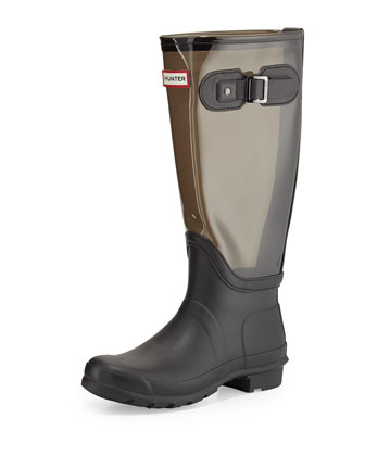 Original Clear-Leg Welly Boot, Slate