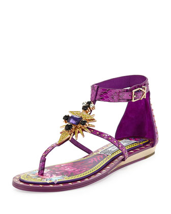 Babel Studded Ornament Sandal