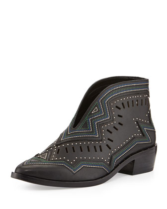 Santa Cruz Studded Bootie, Black