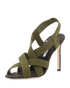 Perpia Strappy Stretch Sandal