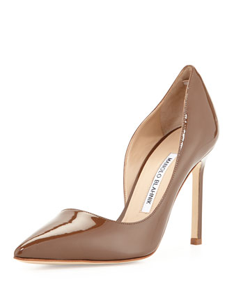Stresty Patent Half d'Orsay Pump, Champagne